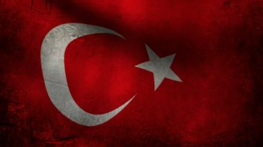 Turkey flag. — Stock Video #13703997