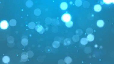 背景のボケ味の青. — ストックビデオ
