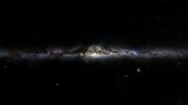 Big Bang. Huge explosion in space. — Stock Video