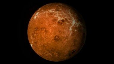 Venus planet. — Stock Video