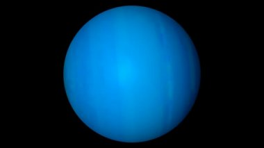 Uranus planet. — Stock Video