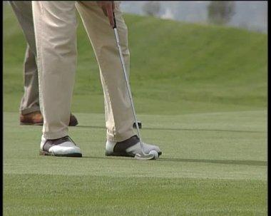 Gry w golfa. — Wideo stockowe
