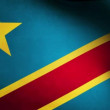 Congo flag. - Stock Photo