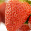 Strawberries rotating. Close up. Loop. — Stock Video