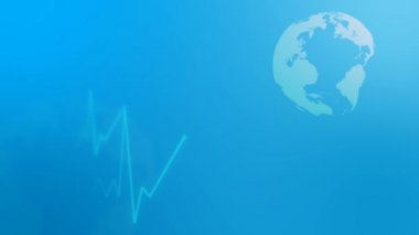 Medical background loop. — Stock Video