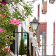 Stock Video: Balconies in Andalusia, Spain