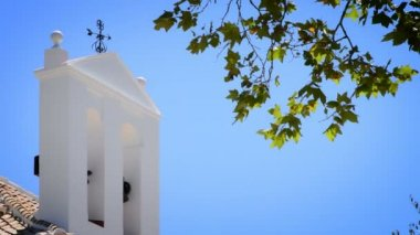 Domed Church: Santorini, Greece — Stock Video