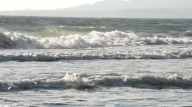 Shore mediterranean — Stock Video