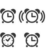 Time/Clock Icons — ストックベクタ