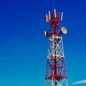 Telecommunication tower — Stock Photo