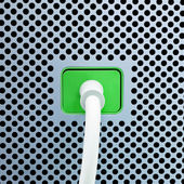 Power Plug. — Stock Photo