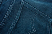 Denim surface. — Stock Photo