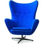 Modern blue chair — Stock Photo #29259601