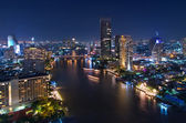 Bangkok night viwe — Stock Photo