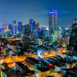 Bangkok night view — Foto de Stock