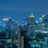 Bangkok night view — 图库照片