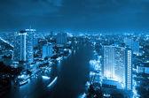 Vue de nuit de bangkok — Photo