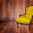 Yellow armchair — Stock Photo #30254565