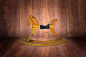 Rocking horse chair — Stock Photo