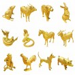 Stock Photo: 12 Thai Zodiac