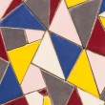 Stone mosaic tile mixed colors. — Stock Photo #30844659