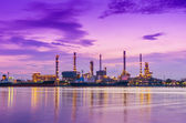 Oil refinery — Stock Photo