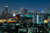 Wgląd nocy w Bangkoku — Zdjęcie stockowe
