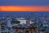 вид на бангкок — Стоковое фото
