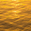 Waves of golden water. — Stock Photo