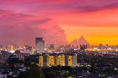 Cityscape weergave van bangkok — Stockfoto
