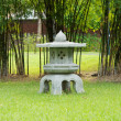 Japanese style garden. — Stock Photo