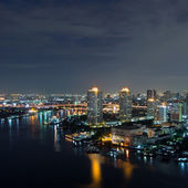 Bangkok night view — Foto Stock
