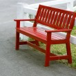 Red bench — Stock Photo #33045993
