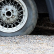 Flat tire — Stock Photo #33046381
