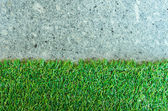 Artificial grass. — Stock Photo