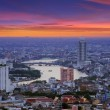 View of Bangkok — Foto Stock