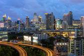 Traffico di bangkok — Foto Stock