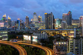 Tráfico de bangkok — Foto de Stock