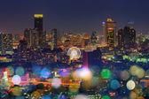 Bangkok night view — Stock Photo