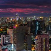 Bangkok cityscape. — Stock Photo