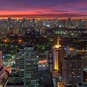 бангкок ночная точка зрения — Стоковое фото