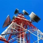 Telecommunication tower — Stock Photo #39813653