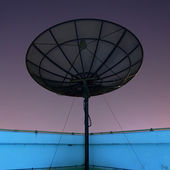 Satellit antenner — Stockfoto