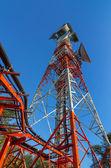 Telekomünikasyon kulesi — Stok fotoğraf