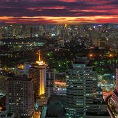 Cityscape of bangkok. — Stock Photo