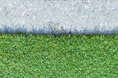 искусственная трава. — Стоковое фото