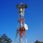 Torre de la telecomunicación — Foto de Stock