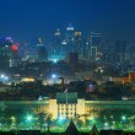 Bangkok at night — Stock Photo #43991081