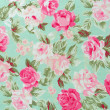 Fabric Rose Pattern — Stock Photo