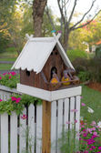 Bird house — Foto de Stock